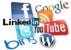 tell you where you can promote your social networks and websites for free