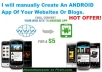 convert Your Websites Or Blogs Into A Killer ANDROID App
