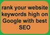 submit your site MANUALLY to High 500 Social Bookmarking Sites with Seo Boost