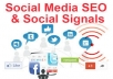 build powerful social SIGNALS from top social sites to boost your seo