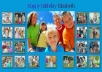 create a Birthday webpage for your child 20 photos plus your mp3 message