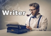 write an extensive article for you!