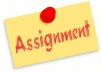 provide writing and research assistance to students. I will help them in their assignments. per page