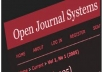 install Open Journal System (OJS) for your website