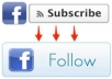 give you Real 2000 Facebook subscribers or followers for profile