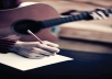 write original song for you