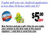 create a your site Android application in less than 24 hours with only