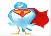do aTWITTER campaign about you to our loyal,active 100,000 Twitter followers
