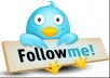 GIVE YOU 500 REAL TWITTER FOLLOWER USA