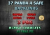do 37 Panda 4 Safe Backlinks 3PR6 7PR5 8PR4 9PR3 10PR2