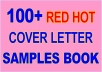 Send You 100 Red Hot Cover Letter Samples E-Book