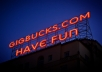 display your name or business in blooming lights