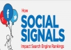 Build powerful Panda 4.0 Social SIGNALS from top social sites to boost your SEO