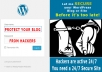 Kick Hackers with WordPress Security Plugin