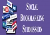 Submit Your Website on High PR Social Bookmarking sites