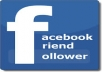 give you Real 3000 Facebook subscribers or followers for profile