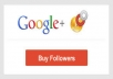 give you 100+ REAL Google circles followers to your plus page within 48 hours