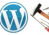 make your WordPress site in 2 days