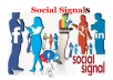 give 600 HQ SEO social signals in popular SEO social networks