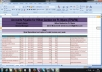 create an excel spreadsheet for you