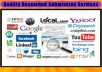 submit Your Website to 1200 Directories and 50 Search Engines