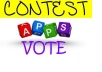 100 genuince votes by real people to any contest