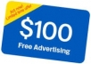 Give 100USD Facebook Ad Coupon
