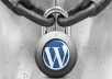 set backup and secure your WP website admin panel