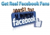 give you Real 3000 Facebook Likes
