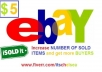 rewrite your ebay, or Craigslist ad, to increase exposure