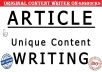 write 600 Words Superb SEO Articles For Website and Blogs in 24 hours