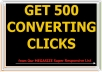 Give You 500 Clicks from MEGASIZE Super Responsive List