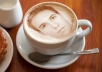 edit your picture or message on cappuccino