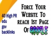 get 40 high pr edu/gov dofollow backlinks ! for special panda 4.0