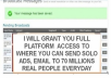 grant you Access to where you can Send Email to 60 million Real People Everyday