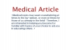 type a 1000 word medical article