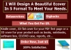 design A Beautiful Ecover In 5 Format In 24 Hrs To Meet Your Needs