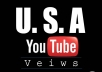 add 4000 USA real YouTube views