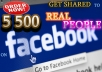 add Facebook real likes 5500 ++ guaranteed