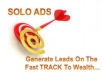 blast Traffic Through SOLO Message Or Email To 3320000 Responsive Subscriber Lis
