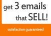 give you 3 EASY email marketing templates, with over 34 headlines and guide