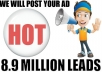 double blast your solo ads to 89 Million Leads