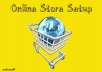 set up your online store
