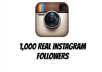 Give you 1,000 real Instagram followers