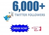 Provide You 1,000 Real/Human/Unique/Active Twitter Followers 100% Safely.