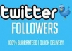 Give You 2,500+ Twitter Followers In Your Profile