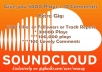Give you 5000 soundclound play download +10 comment only