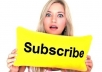 give you 50 real YouTube Subscribes within a hour whithout your password