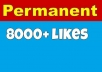 Give you 8000 facebook fan page likes