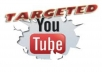 Provide you SAFE 2,000 YouTube REAL HUMAN Views